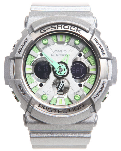G-Shock By Casio Ga-200Sh-8A Watch Grey