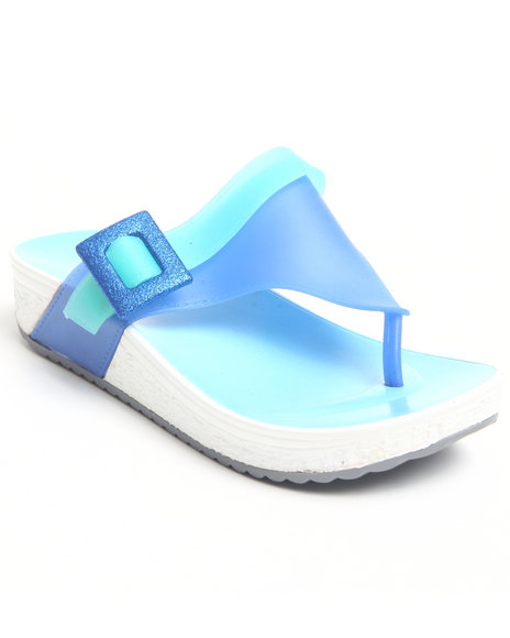 Fashion Lab - Women Blue Payton Flip Flops