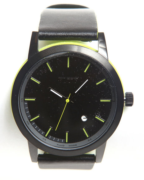 Flud Watches Men Onyx Watch Lime Green