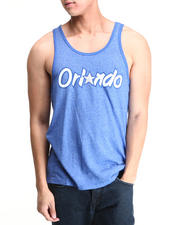 Men - Orlando Magic Shaq O'Neil Tri Blend Tank Top (Drjays.com Exclusive)