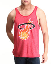 Men - Miami Heat Glenn Rice Vintage Player Tri Blend Tank Top (Drjays.com Exclusive)