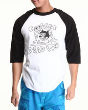 Men - Cool Cat Raglan Tee