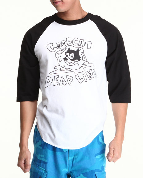 Deadline - Cool Cat Raglan Tee