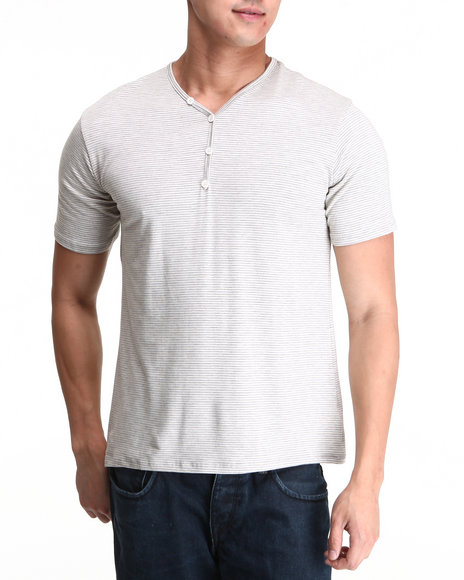 Basic Essentials - Short Sleeve Henley