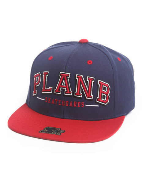 Plan B Coliseum Snapback Cap Navy