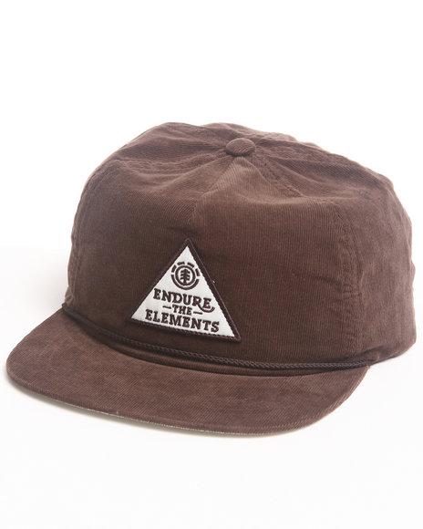 Element Endure The Elements Snapback Cap Brown