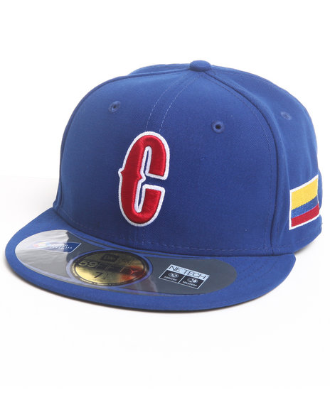 New Era - Men Blue Colombia World Baseball Classic 5950 Fitted Hat