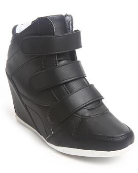 Fashion Lab - Bala 3 Strap Wedge Sneaker