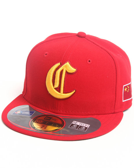 New Era - Men Red China World Baseball Classic 5950 Fitted Hat