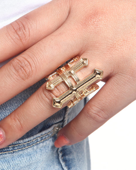 DRJ Accessories Shoppe - Women Gold Kiki Ring