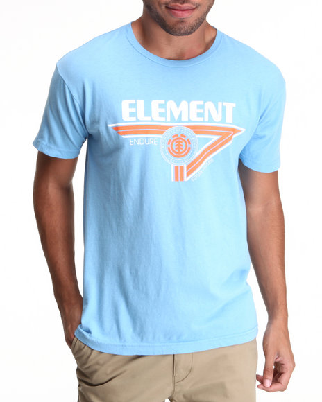 Element Light Blue Tiger Tee