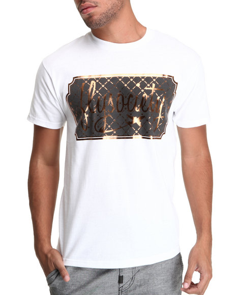 Flysociety White Plaque Tee