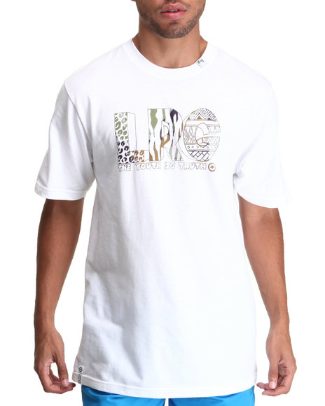 Lrg - Men White Youth Is The Truth Tee