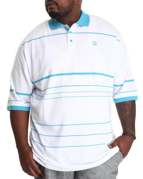Basic Essentials - Men Blue,White Basic Polos
