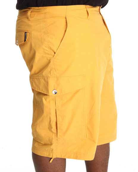 LRG - Men Yellow Young Bright Youth Ts Cargo Short (B & T)