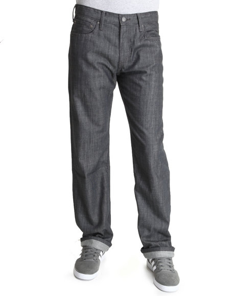 Levi's - Men Grey 569 Loose Straight Jeans