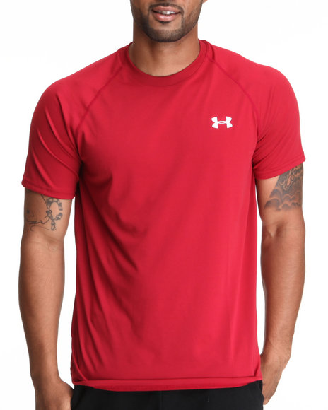 Under Armour Red Tech S/S Tee (Light Weight & Superior Moisture Transport)