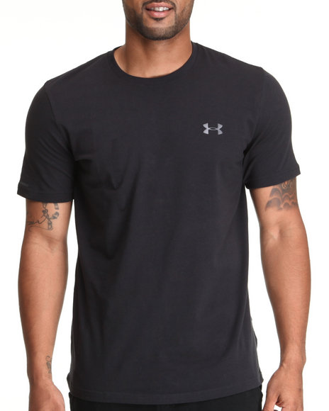 Under Armour - Men Black Charged Cotton Tee (Quick-Dry Technology)