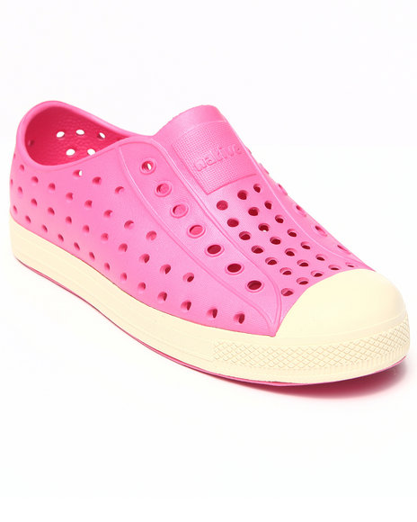 Native Girls Pink Jefferson Shoe (Youth)