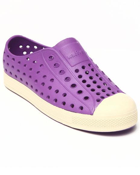 Native Girls Purple Jefferson Shoe (Youth)