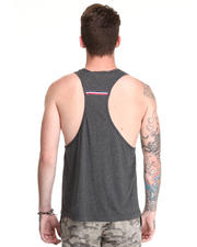 Shirts - Charles Racerback Tank w/ Grosgrain Trim