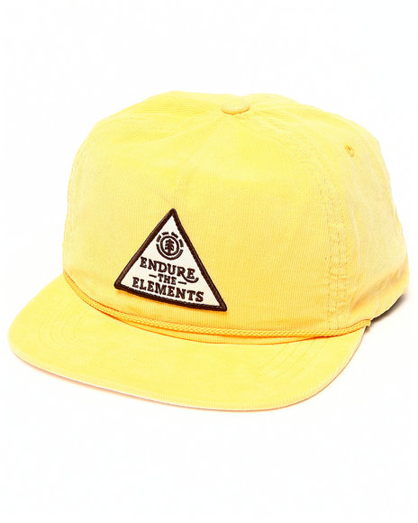 Element Endure The Elements Snapback Cap Yellow