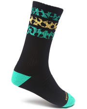 Buyers Picks - 3 Stripe Rasta Sock