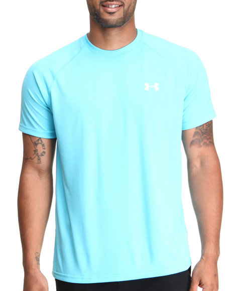 Under Armour Light Blue Tech S/S Tee (Light Weight & Superior Moisture Transport)