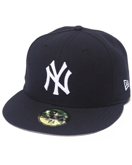 New Era - Men Navy New York Yankees Mariano River Commemorative 5950 Fitted Hat
