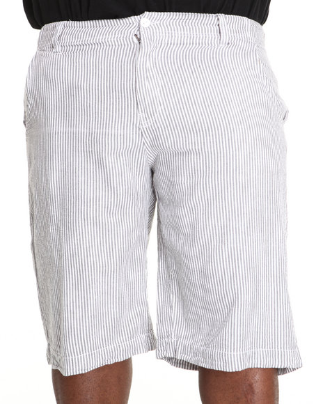 Rocawear - Men White Gingham Shorts (B & T)