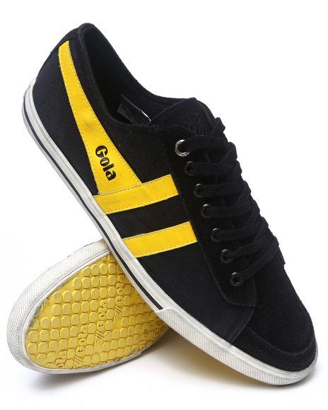 Gola Footwear - Men Black,Yellow Quota Sneakers