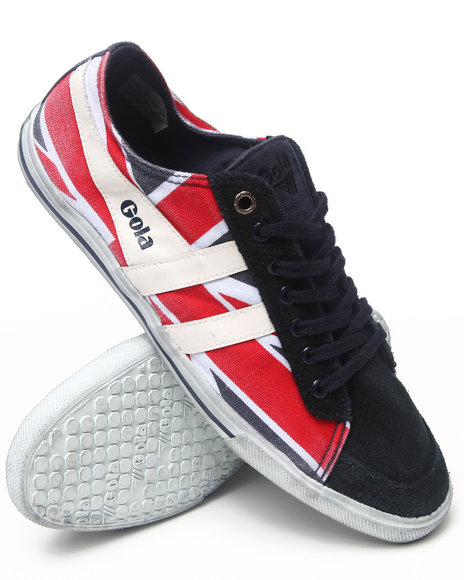Gola Footwear - Men Navy,Red,White Quota Union Jack Sneakers