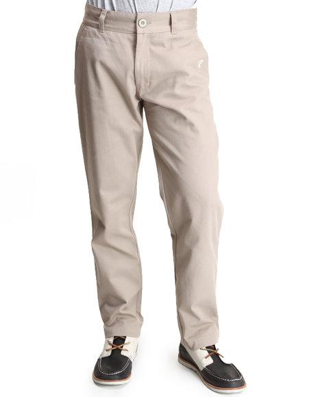 Famous Stars & Straps - Men Khaki Slim Chino Pants