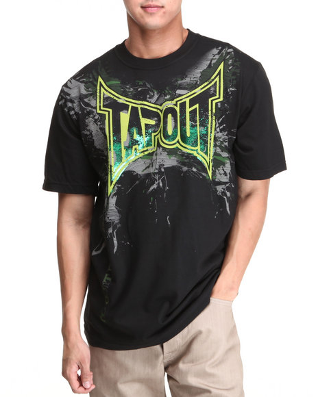 Tapout Men Tapout All Out Tee Black Large