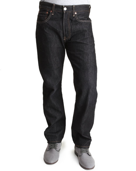 Levi's Black 501 Straight Fit Iconic Black Jeans