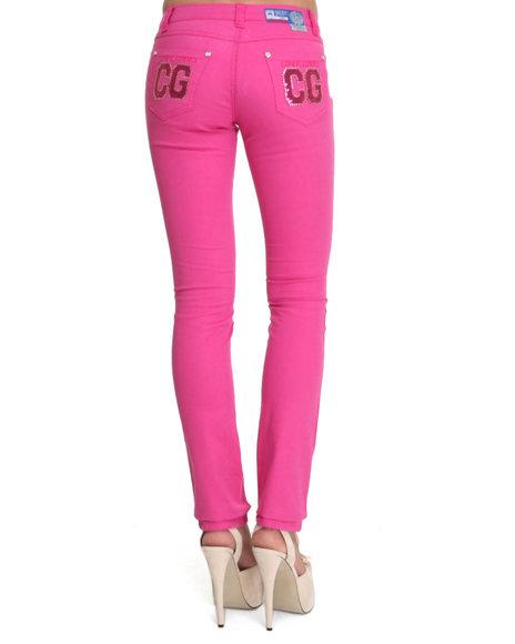 COOGI Pink Skinny Jean Pants