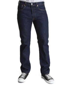 Levi's - 501 Straight Fit Rinse Jeans