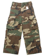Bottoms - Camo Paratrooper Fatigues (8-20)