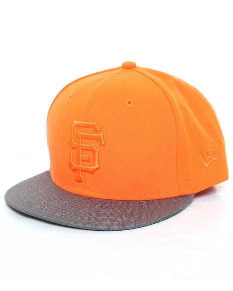 New Era - Men Orange San Francisco Giants Snapback Hat