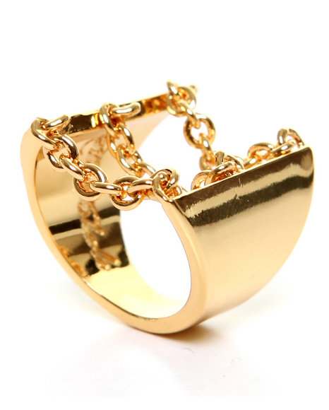 Han Cholo - Women Gold Drip Chain Ring 2013