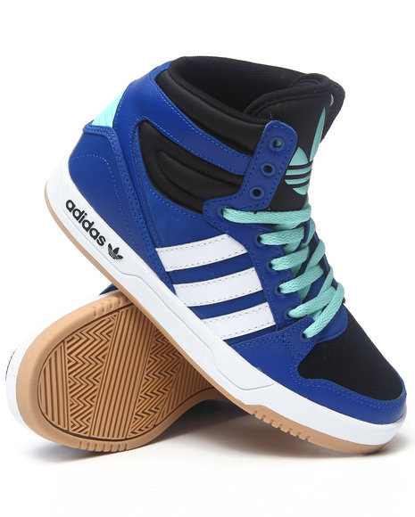Adidas Boys Court Attitude C Sneakers Blue 6 Youth