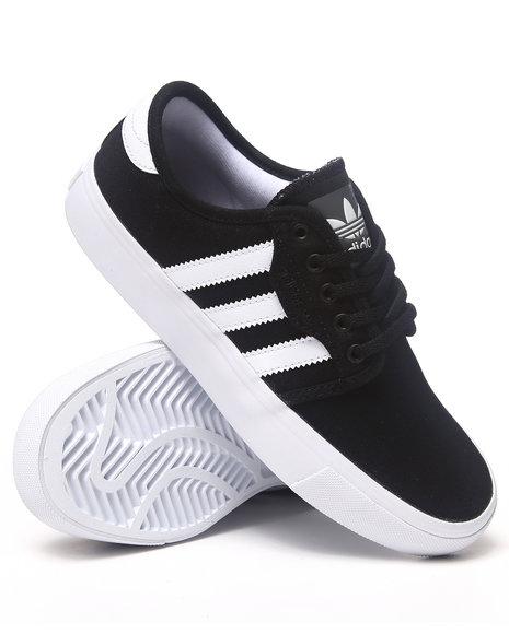 Adidas Boys Black Seeley K Sneakers