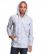 Hoodies - Rossville Oxford Pullover Woven Hoodie
