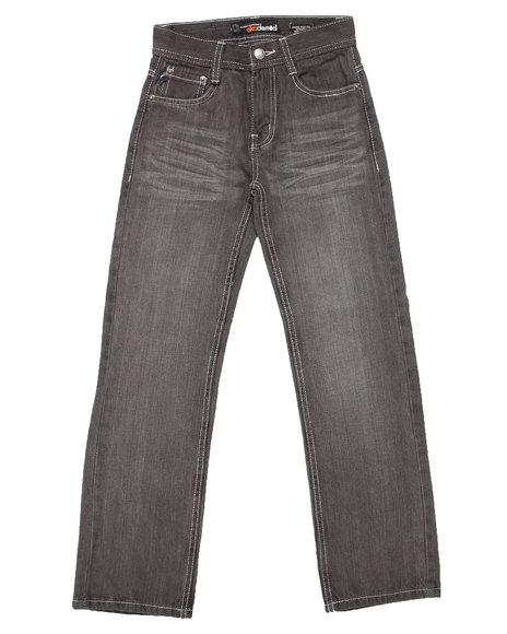 Akademiks - Boys Grey Signature Rolodex Jeans (8-20)