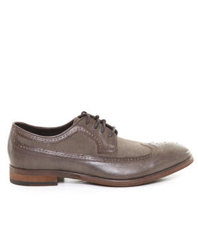 DJP OUTLET - NYC WingTip Calf / Canvas Spectator Lace Up