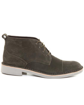 -FEATURES- - Sid Eva Calf Suede Chukka Boot w/ Stitch Toe Detail