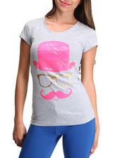 Tops - Mustache Printed tee