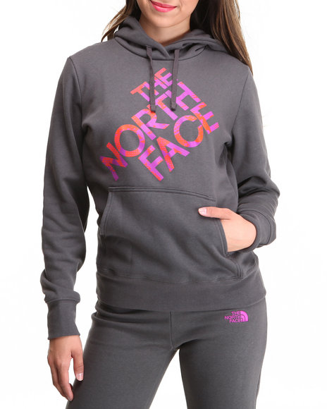 The North Face - Women Grey Jazzy Pullover Hoodie