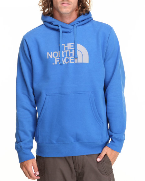 The North Face - Men Blue Half Dome Hoodie