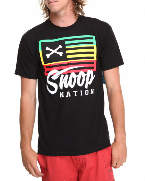 Neff Black Snoop Nation Tee